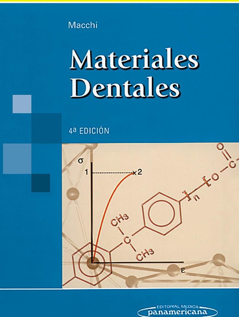 Materiales Dentales 4° Ed