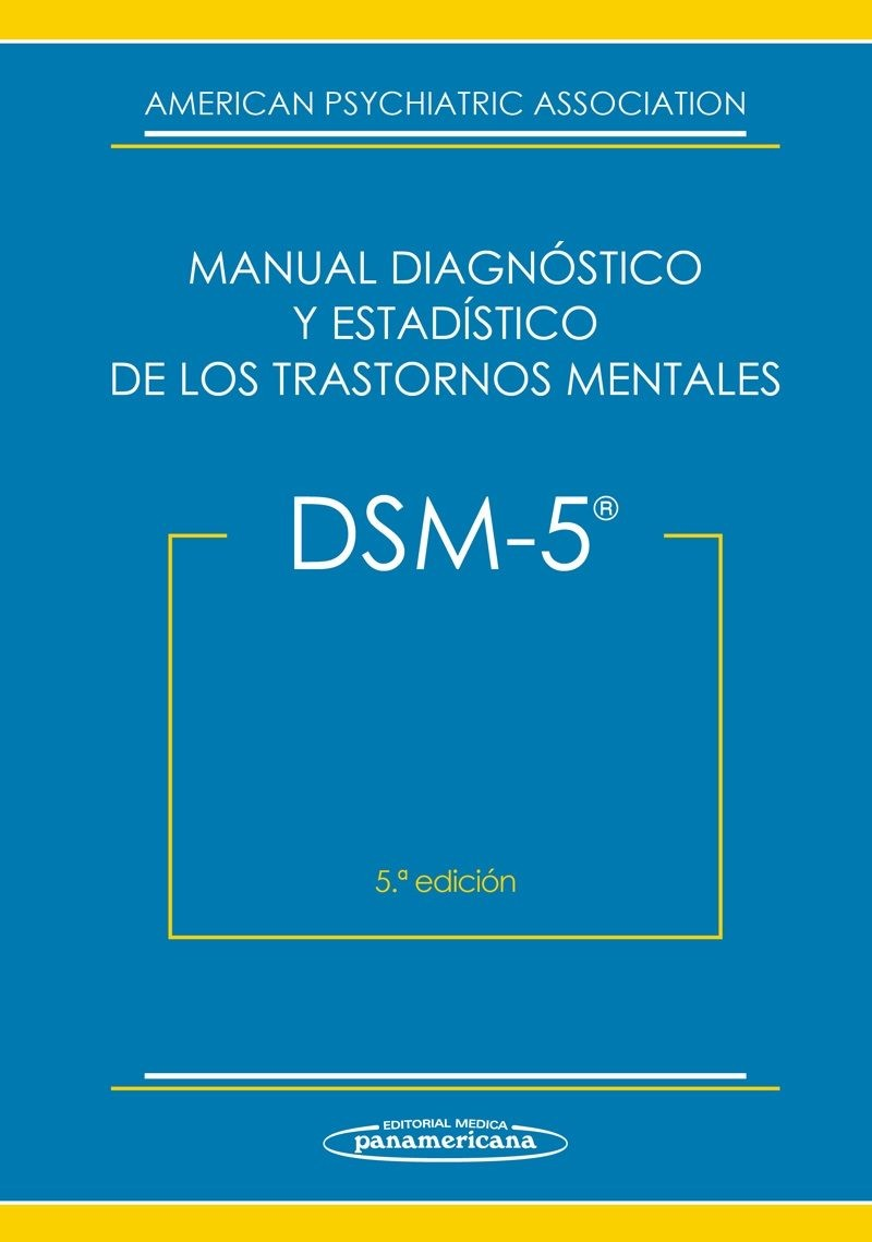 DSM-V. Manual Diagnóstico y...