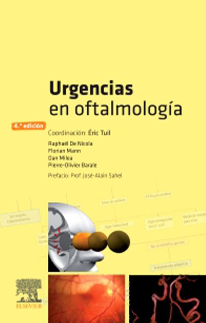 URGENCIAS EN OFTALMOLOGIA 4ED.