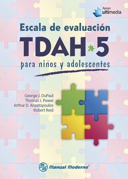 ESCALA DE EVALUACION TDAH 5...