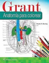 GRANT. ANATOMIA PARA COLOREAR