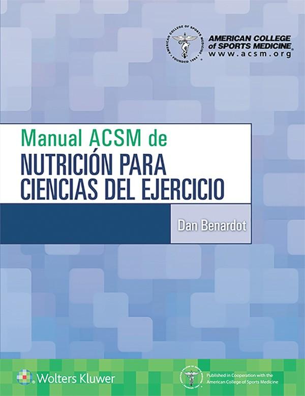 Manual ACSM de nutricion...