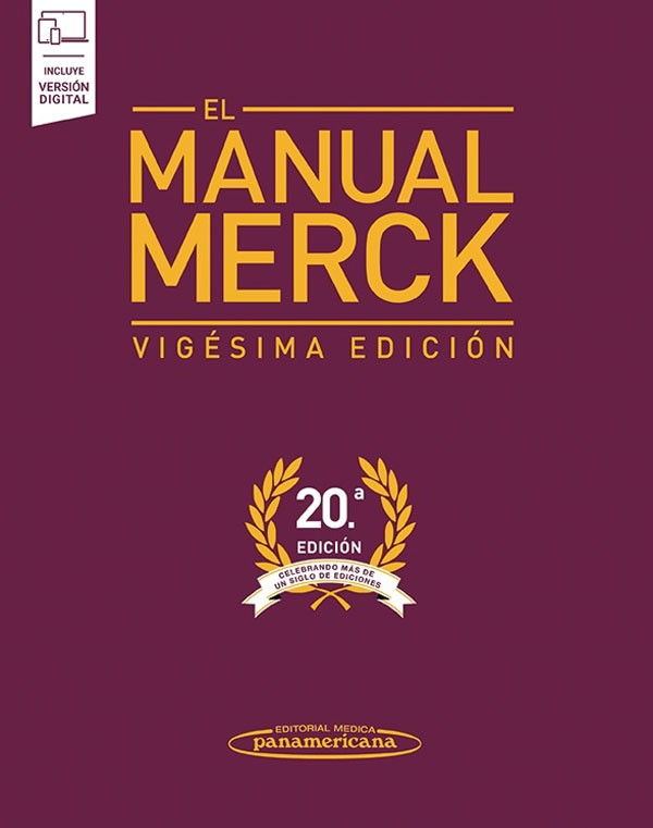 El manual Merck 20ª Ed. +...