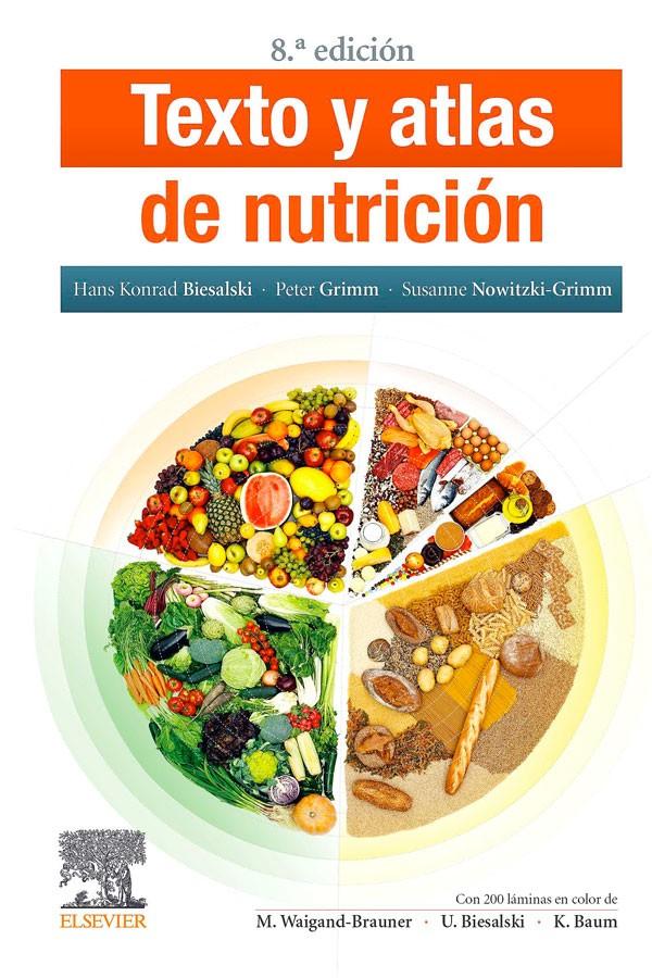 Texto y atlas de nutrición...