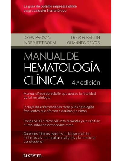 Manual de Hematología...